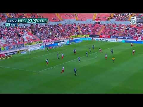 Gol de C. Calderón   Necaxa 1 - 0 Monterrey   Clausura 2019    LIGA Bancomer MX