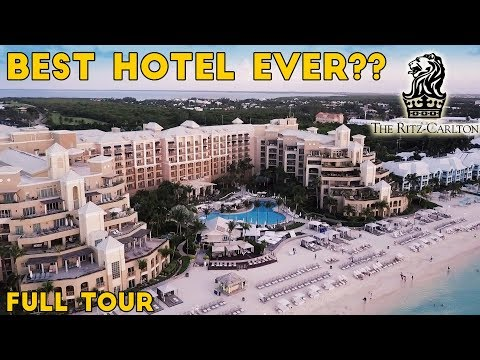 BEST HOTEL EVER! Ritz-Carlton, Grand Cayman, Full Tour!