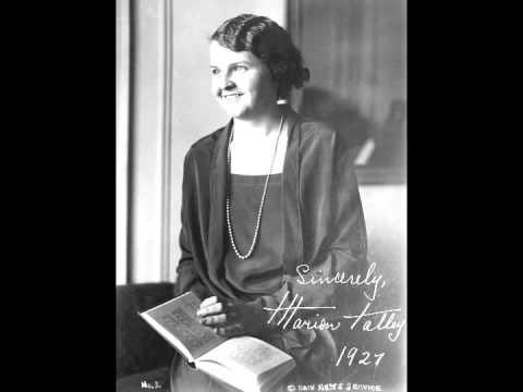 American Soprano Marion Talley ~ Radio Broadcast (1938)