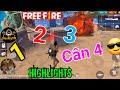 [Garena Free Fire] 1 2 3 Xuất Thần Cân 4  Luôn | StarBoyVN