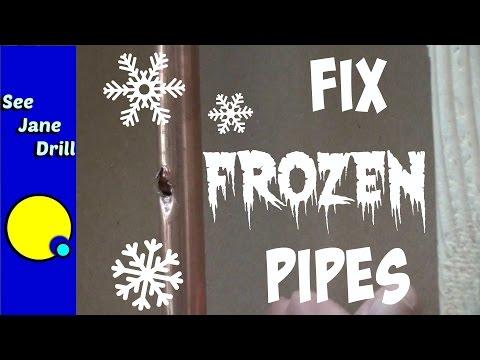 Repair a Burst Pipe in 10 Minutes or Less