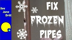 Repair a Burst Pipe in 10 Minutes or Less