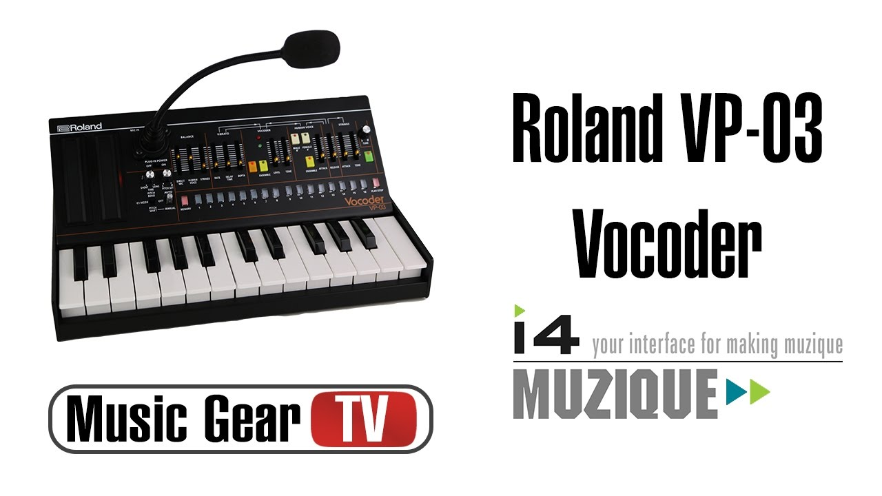 roland vp 03 vocoder youtube. Black Bedroom Furniture Sets. Home Design Ideas