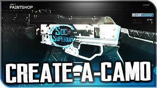 "BEST CUSTOM CAMOS! My ""Paintshop"" Designs! (Black Ops 3 Custom Camo)"