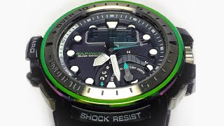 Casio G-Shock GWN-Q1000MB-3AJF Marine Blue Gulfmaster QUAD sensor unboxing & review