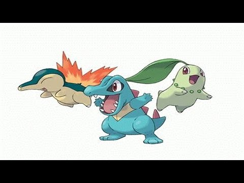 Pokémon Gold and Silver - Episode 1 Choose Chikorita Cyndaquil Totodile (Part 1)
