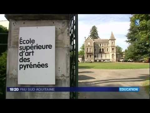 École Supérieure d'Art des Pyrénées - le site de Pau - 19/20 - FR3