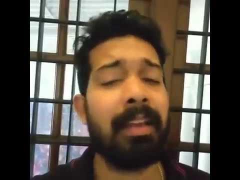 Mamunnan Thedumbol Odipanjethum Vocals without karoke sung by Sreejith