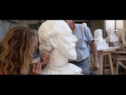 The Restoration of - the sculpture of - Edward Vll