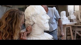 Repeat youtube video The Restoration of - the sculpture of - Edward Vll