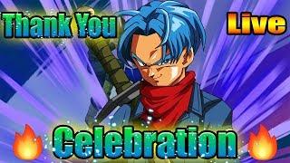 NEW THANK YOU CELEBRATION LOGIN & CAMPAIGN!! GLOBAL DOKKAN BATTLE LIVE!