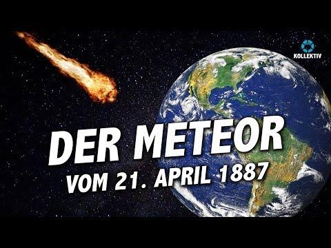 Der Meteor vom 21. April 1887, der in Schrems niederging