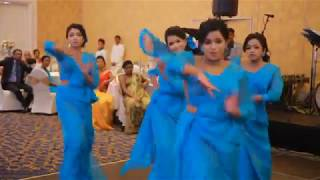 Upekha & Kalpa wedding @ Hilton Colombo Surprise dance 2016   Choreography by  Lakshitha Peiris