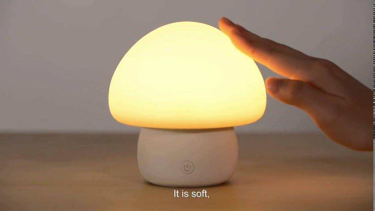 Emoi Mushroom Lamp Youtube