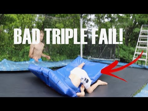 BUYING THE WORLDS BEST BACKYARD TRAMPOLINE(expensive)