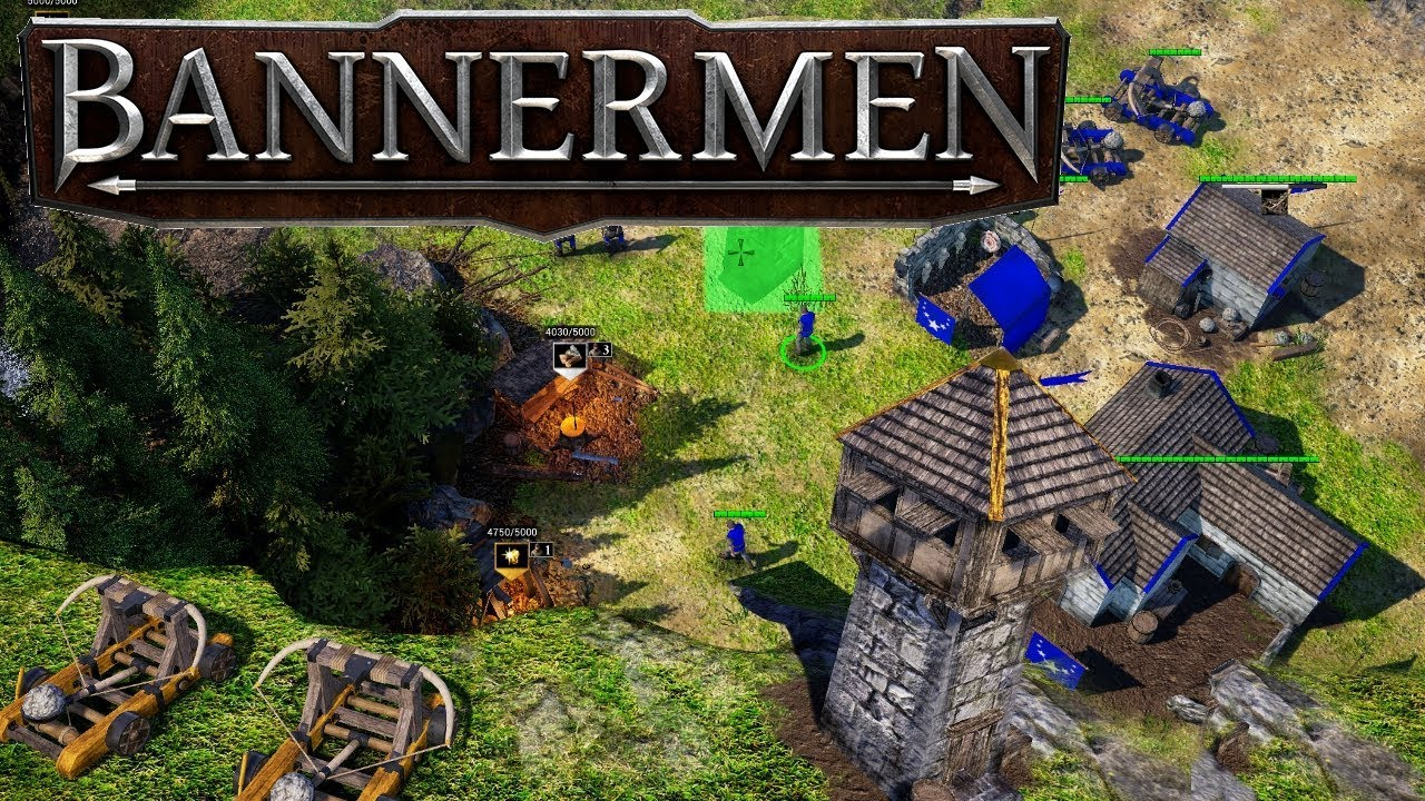 Bannermen Gameplay New Rts Base Building Strategy Game