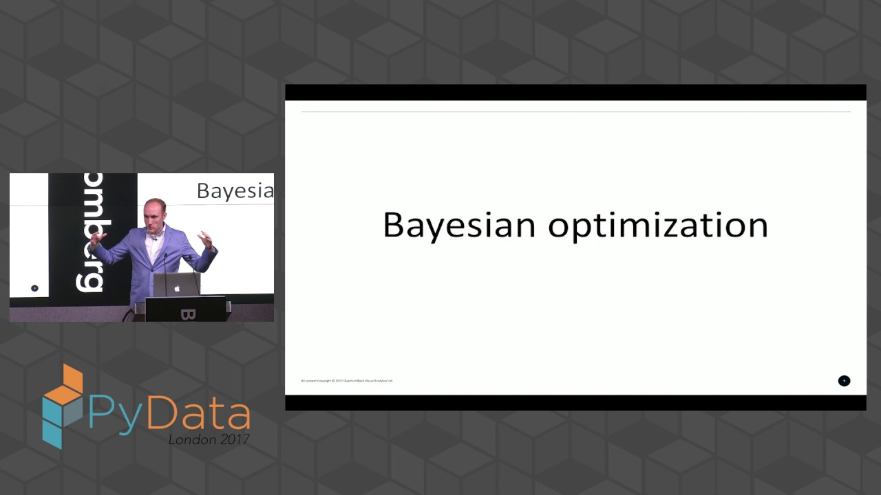 Thomas Huijskens - Bayesian optimisation with scikit-learn