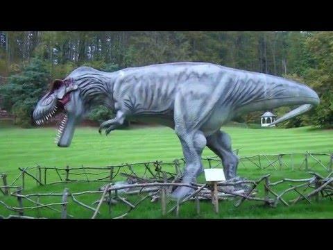 Tyrannosaurus dinosaur by © SashM giant killer 2  escaped from Jurassic Park