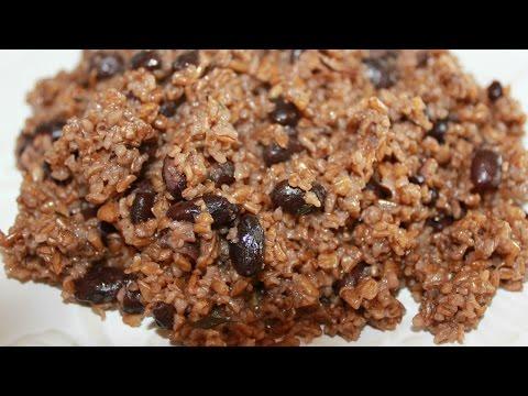 Haitian blè | Bulgur with black beans recipe | Episode 15