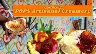 ARTISANAL CREME BRULEE SUNDAE at POPS Artisanal Creamery (Family Restaurant Spotlight)