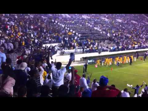 SOUTHERN  'POWER' VS JSU 2010