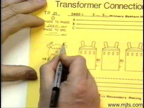 Delta transformer hook up