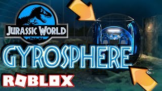 ROBLOX JURASSIC WORLD GYROSPHERE (Dinosaurs Park Let's Play)