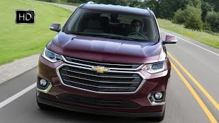 2018 Chevrolet Traverse SUV -  Exterior Interior Design & Driving Footage HD