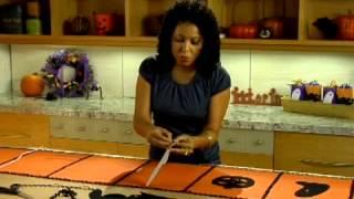 Easy Halloween Crafts - Table Runner