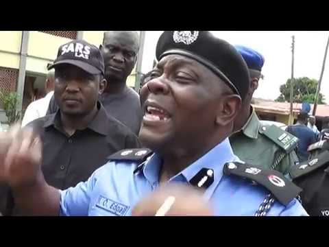 BREAKING NEWS NIGERIA POLICE FORCE PARADES CULTIST  AND OTHERS