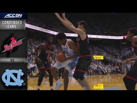 St. Francis (PA) vs. North Carolina Condensed Game   2018-19 ACC Basketball