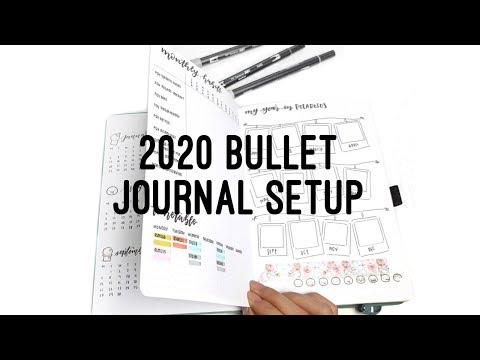 2020 Bullet Journal Setup - Archer & Olive