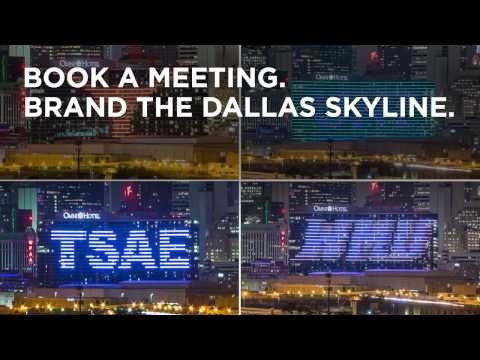 Book a Meeting, Brand the Skyline