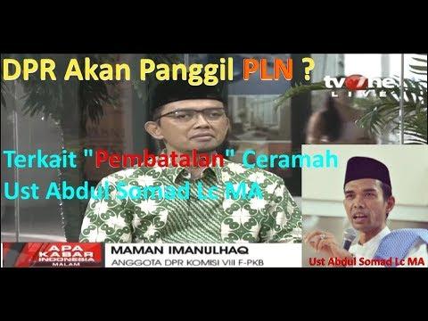 Ust. Abdul Somad Dilarang Ceramah Di PLN ?? Ini Penjelasannya !!!