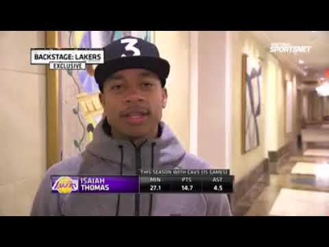 Isaiah Thomas & Channing Frye arrive in Dallas to meet the Lakes