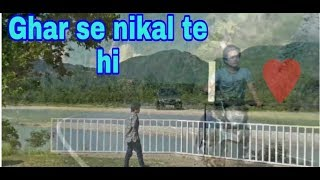 Ghar se nikalte hi Cover by Abhraham Goi | Udit Narayan Northeast video in pasighat