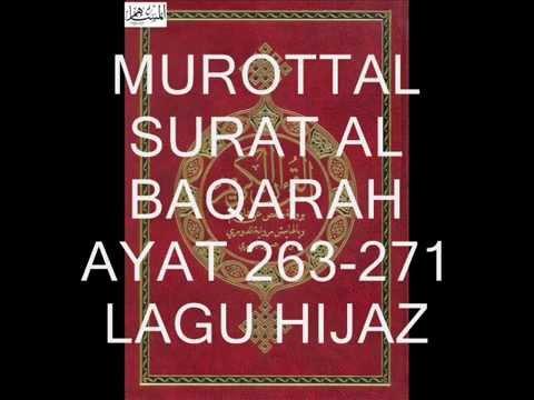 MUROTTAL SURAT AL BAQARAH 263-271 LAGU HIJAZ OLEH CHOIRUL ANAM JABAR
