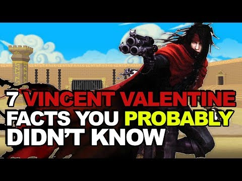 7 Vincent Valentine Facts You Probably Didnt Know