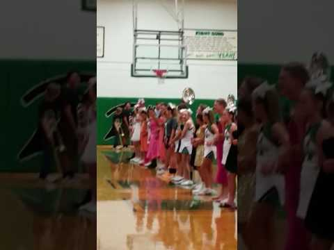 Mabank Jr High School Homecoming 'girls' showing off