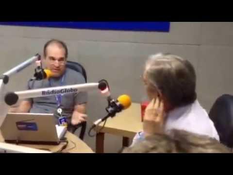 Chico Caruso na Radio Globo