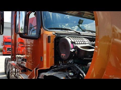 Indiana Jacks Informal Tour of a 2016 Volvo 680 Semi Truck