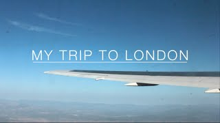 MY TRIP TO LONDON | Isabel Vias