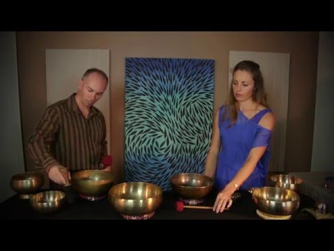 Tibetan Singing Bowls Music for Meditation, Relaxation, Calming & Healing