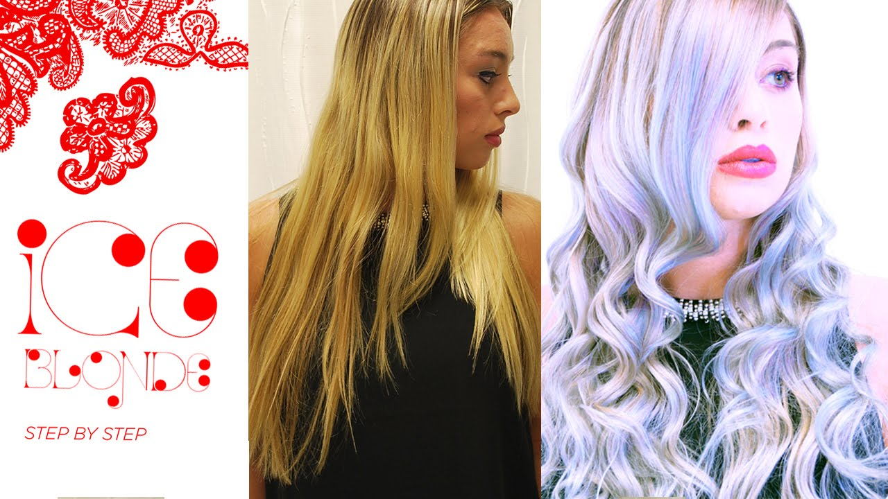 How To Mother Of Pearl Ice Blonde Hair Color Formula Youtube