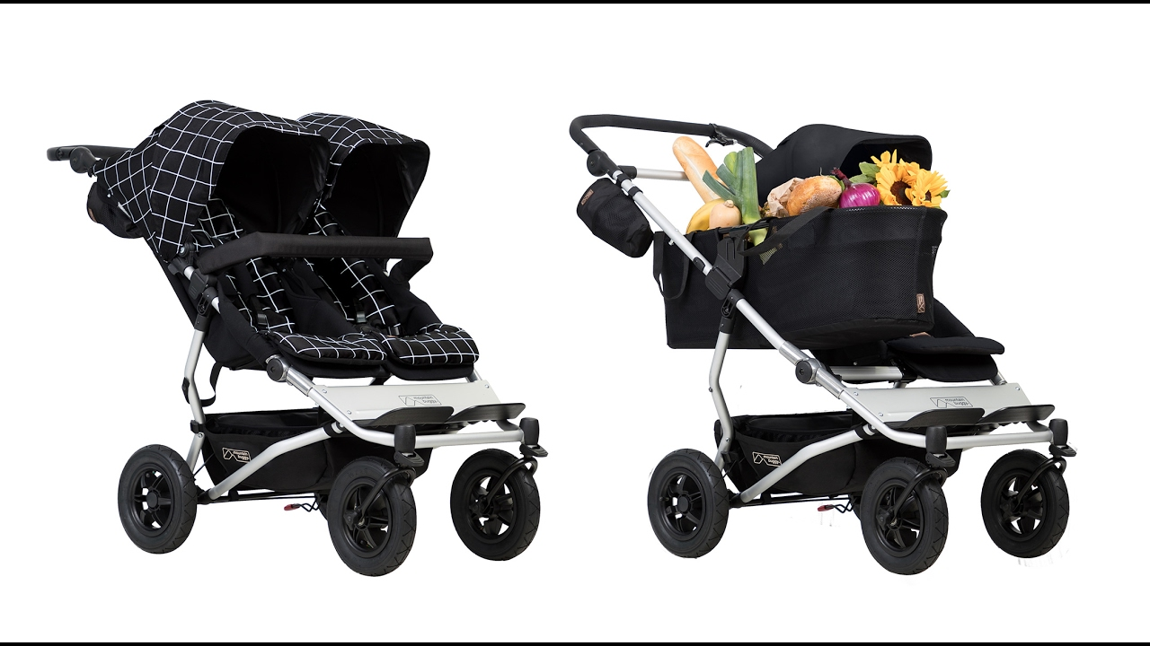 Mountain Buggy Duet Pneu Poussette Mountain Buggy Duet Luxury Collection Achat