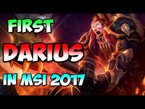 First Darius at MSI 2017 Brazil v Japan