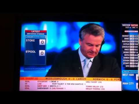 Never forget this amazing comeback from Charlie Nicolas on Soccer Saturday