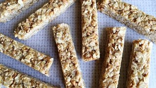 Quick and Easy Peanut Butter Oat Bars Recipe
