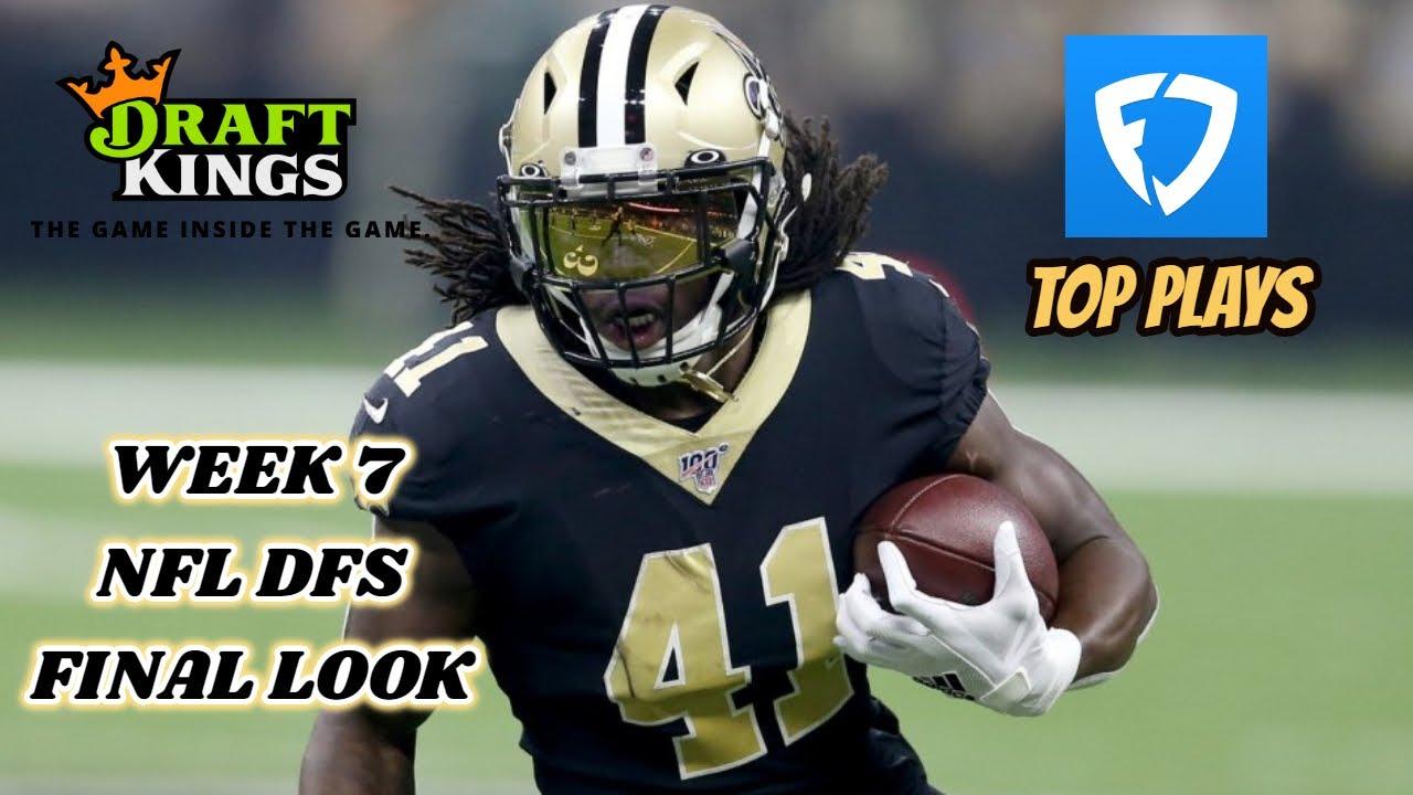 DRAFTKINGS & FANDUEL WEEK 7 NFL FINAL LOOK