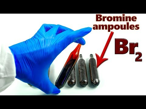 Br2: Bromine And NON-metals Chemical Reactions